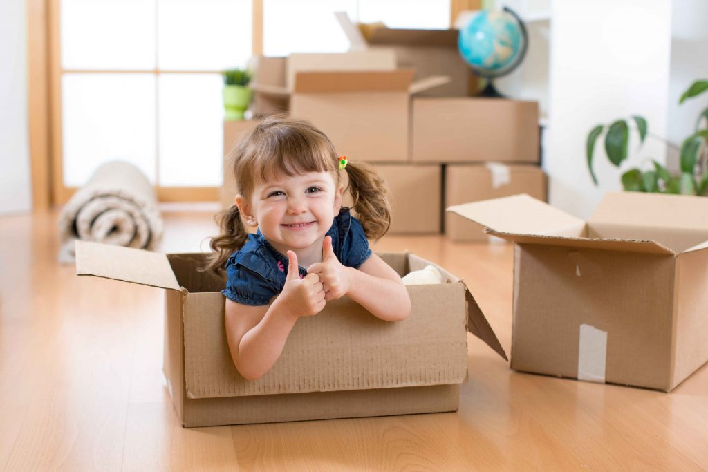 Tips for moving a toddler