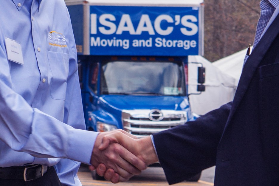 Isaac's Moving Corporate relocation Boston Philadelphia houston